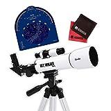 【星座早見盤&マイクロファイバークロス付き】ケンコー・トキナー 天体望遠鏡 SKY WALKER SW-0[kenko]
