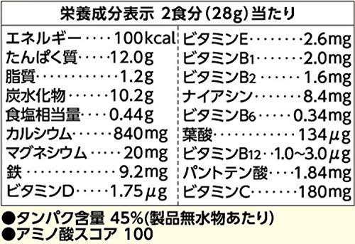 ジュニアプロテイン ココア 60食