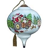 Ne'Qwa Santa's Tree Farm Ornament