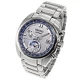 [セイコーウォッチ] 腕時計 アストロン ソーラー電波ライン SBXY001 メンズ シルバー
