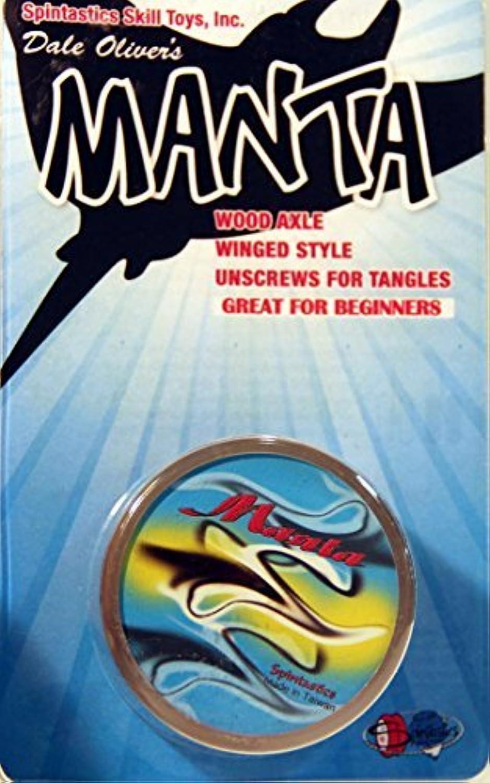 Spintastics Manta Ray Yo-Yo from Dale Oliver - Clear by Spintastics [並行輸入品]