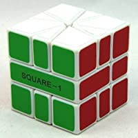 Mf8 Square 1 V2 White Cube Speed Twisty Puzzle by MF8 [並行輸入品]