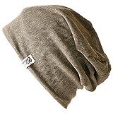 CHARM SAN サマーニット帽 [ フリーサイズ/ブラウン ] ワッチ 無地 ビーニー 帽子
