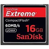 サンディスク Extreme 16GB 60MB/s 400X UDMA CF(コンパクトフラッシュ) 海外パッケージ