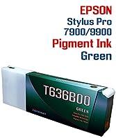 グリーン - Stylus Pro 7900 9900 プリンター対応 顔料インクカートリッジ700ml
