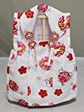 飾台付被布コート 白色の被布コート単品 初節句のお供に B6210