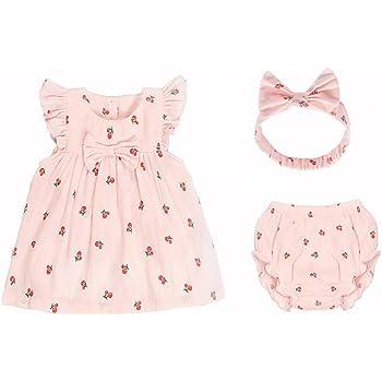 aceaaed4d1cb7 mikistory 新生児 服 女の子 子供服 出産祝い ベビー服 ドレス 幼児 服 110cm