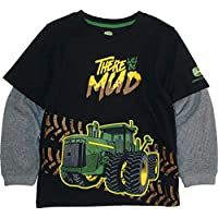 John Deere Boys 2 for Tee Thermal Sleeve Long Sleeve T-Shirt