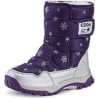 スノーブーツ キッズ ジュニア ブーツ 女の子 男の子 防水 保暖 冬用ブーツ 雪遊び スキー 雪用ブーツ 滑り止め