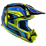 HJC(エイチジェイシー)バイクヘルメット オフロード ブルー/イエロー (サイズ:M) FG-MXピストン HJH125