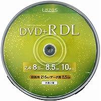 LAZOS DVD+RDL 10枚 スピンドルケース入 LA-DL10