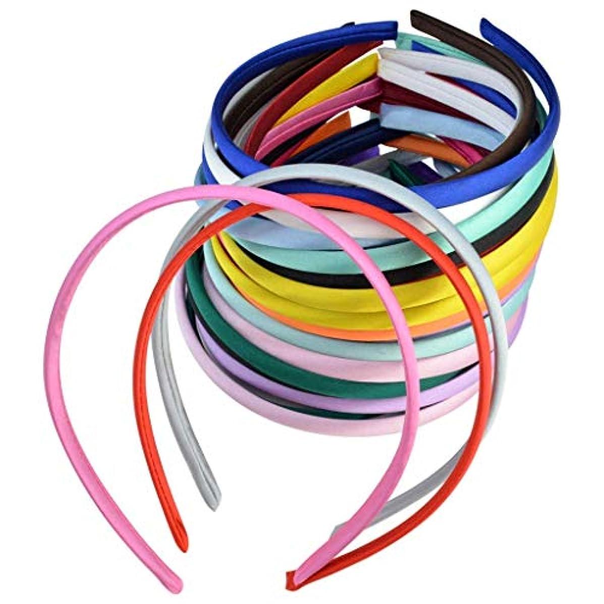ラッドヤードキップリング親密なペースJun® 単色のシンプルなヘッドバンドが付いたヘア多彩なヘアアクセサリー(40個)