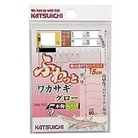 カツイチ(KATSUICHI) HW-5G ふわっとワカサギグロー 2522081.5号