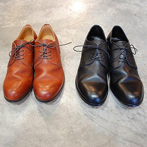 PADRONE パドローネ 短靴 ダービー プレーントゥシューズ ブラック キャメル 40 41 42 (40(25.0cm-25.5cm),...