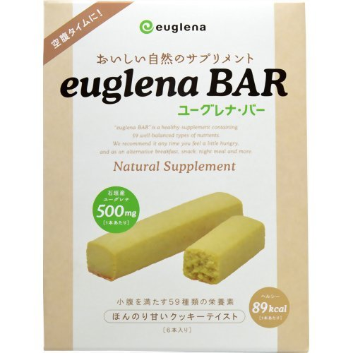 おいしい自然のサプリメント ユーグレナ・バー120g(6本入り)
