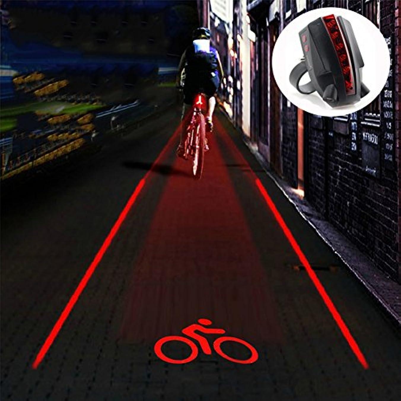 最大限控える縫うDMCE 自転車ライト Led,リアライト Usb充電式 Ip65 防水 クリエイティブ 性格 多目的 簡単なインストール すべてのバイクに適合します。 道のバイク