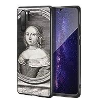 Robert Nanteuil Huawei P30 Pro用ケース/ファインアート携帯電話ケース/高解像度ジクレーレベルUV複製プリント、携帯電話カバー(ギリアーズ夫人)