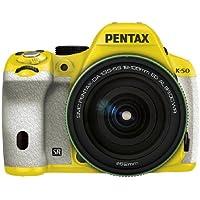RICOH デジタル一眼レフ PENTAX K-50 DA18-135mmWRレンズキット イエロー/ホワイト 029 K-50 18-135WR KIT YELLOW/WHITE 029 11417