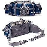 Bp Vision Outdoor Fanny Pack Hiking Camping Fishing Waist Bag 2 Water Bottle Holder Lumbar Pack