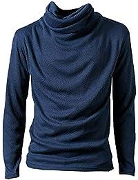 BUZZxSELECTION(バズ セレクション) アフガン タートルネック 長袖 カットソー ロング Tシャツ メンズ TSL003
