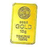 徳力 ゴールドバー 10g インゴット 日本製10gの純金 24金 Gold Bar K24 tokuriki