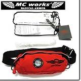 MC WORKS/MCワークス ライフセービングポーチ2 MCW-LR01(LIFE SAVING PORCH II) (OR/BK(オレンジにブラックロゴ))