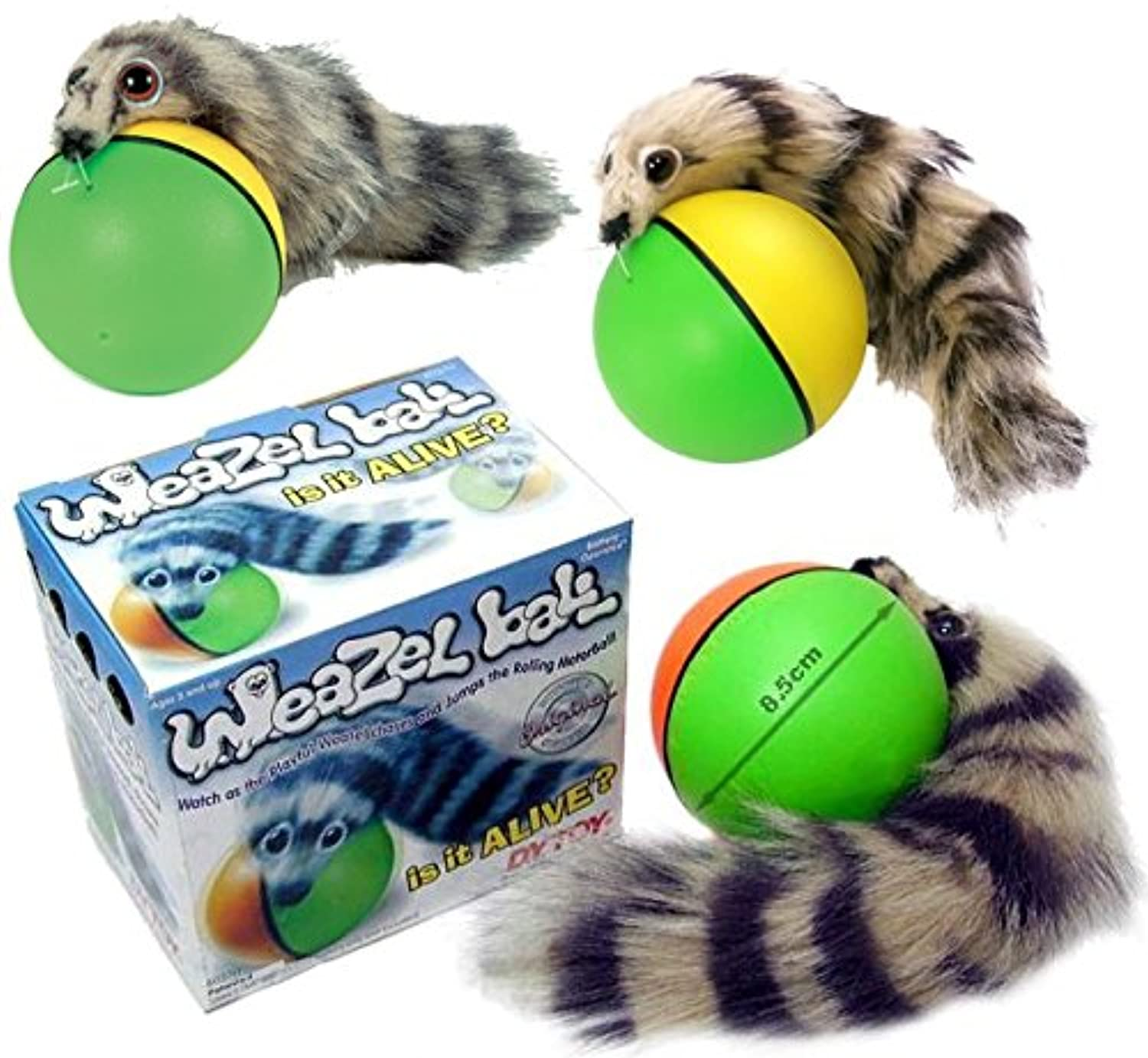 [D.Y. Toy]D.Y. Toy Weazel Ball 3 Pack Battery Operated Toy for Kids, Adults, Dogs or Cats by 8037HH [並行輸入品]