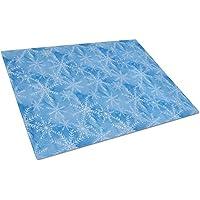 Caroline 's Treasures bb7576lcb水彩ダークブルーWinter Snowflakes Chopping Board、L、マルチカラー