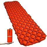 エアーマット エアーベッド キャンプマット 超軽量 寝袋 マットパッド ナイロン 防水フローティング コンパクトTPU&40D 490g OUSPT