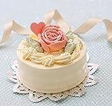 バタークリームケーキ 4号 昭和レトロ、 懐かし風味 誕生日ケーキ