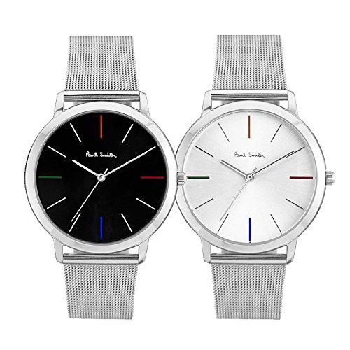 [ポールスミス] PAUL SMITH ペア 腕時計 ペアウォッチ MA レザー ベルト P10055 P10054 時計 [並行輸入品]