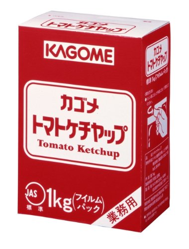 カゴメ トマトケチャップ標準フィルム 1kg×10個