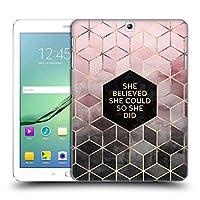 オフィシャルElisabeth Fredriksson Believe 2 タイポグラフィ Samsung Galaxy Tab S2 9.7 専用ハードバックケース