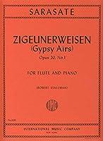 SARASATE - Aires Gitanos Op.20 nコ 1 para Flauta y Piano (Stallman)