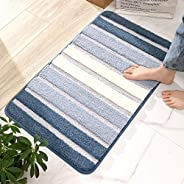 Entrance Mat, Indoor Bath Mat, Bath Mat, Stylish, Washable, Absorbent, Scandinavian, Non-slip, Soundproof, Odo