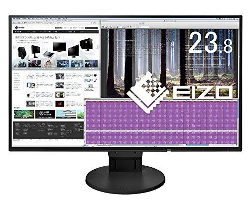 EIZO FlexScan 23.8インチ ディスプレイ モニ...