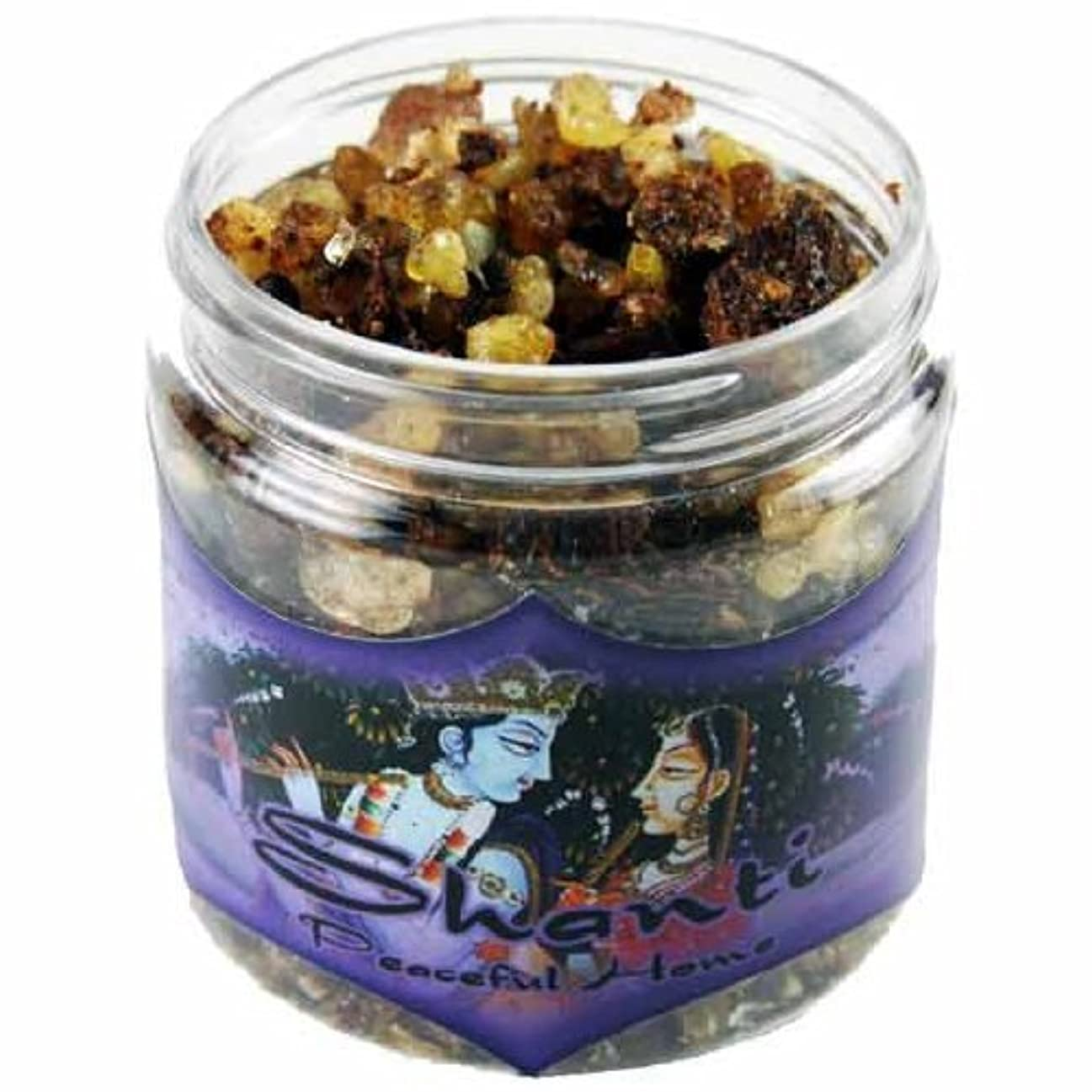 折クラック汚物Resin Incense Shanti - Peaceful Home - 2.4oz jar [並行輸入品]