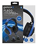 Gioteck FL-300 Wired Stereo Headset with Removable Bluetooth Speakers - Blue [並行輸入品]