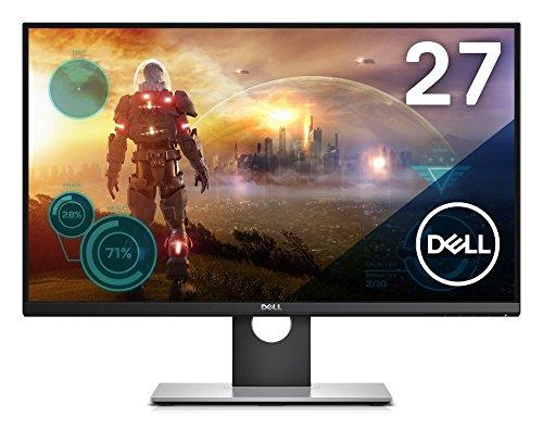 Dell ゲーミングモニター 27インチ S2716DG(3年間交換保証/フレームレス/1ms/144Hz/G-SYNC/WQHD/TN非光沢/フリッカーフリー/DP,HDMI/高さ調整/回転)