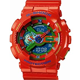 CASIO (カシオ) 腕時計 G-SHOCK Hyper Colors GA-110A-4JF メンズ