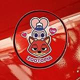 ディズニー Disney ズートピア ZOOTOPIA ニック ジュディ かわいい ビニール デカール カー ステッカー [並行輸入品]