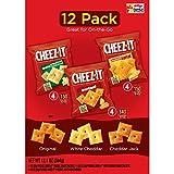 Cheez-It Baked Snack Crackers チーズイット焼きスナッククラッカーバラエティーパック 340g [並行輸入品]