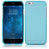 ahha 日本正規品 iPhone6s Plus / iPhone6 Plus 5.5 inch 両対応 Gummi Shell Case MOYA, Clear Blue 【 半透明 TPU素材製 ソフト ケース 】 グミ シェル ケース, クリアー ブルー A-GSIH655-0M03