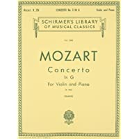 Concerto No. 3 in G, K.216 (Schirmer's Library of Musical Classics; Vol. 1580)