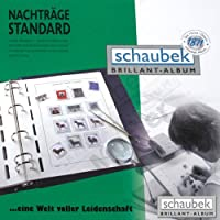 Schaubek koa-871/ 02N Albumウクライナ2005–2014標準、ブルーねじPostにバインダー、Vol。II , withスリップケース