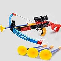 baynne子供アウトドアスポーツおもちゃBow Sucker矢印安全Shooting Crossbow Toy