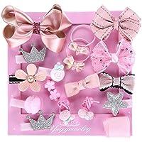 子供のための素敵なヘアアクセサリー赤ちゃんの女の子のヘッドバンド、ヘアクリップ, ピンク