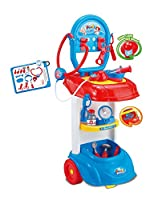 Kids Doctor's Set Medical Playset Trolley Nurse Medic Role Play Set