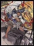 マジック:ザ・ギャザリング プレイヤーズカードスリーブ 『ストリクスヘイヴン:魔法学院』日本画ミスティカルアーカイブ 《テフェリーの防御》 MTGS-157