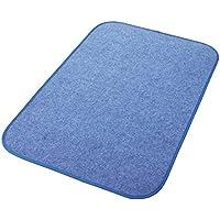 西川リビング 調湿シート ブルー 60×90cm からっと寝 シリカゲル入り 1572-00007